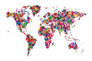 1-butterflies-map-of-the-world-michael-tompsett