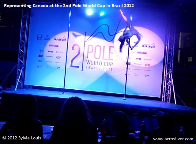 Sylvia Louis 2nd Pole World Cup