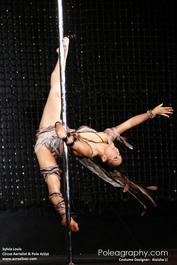 Sylvia Louis Spinning Pole Artist