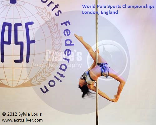 Sylvia Louis World Pole Sport Championships