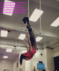 Natalie trapeze